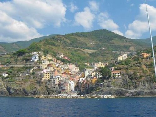 Cinque Terre from the boat