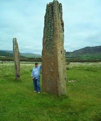 Standing stones - Machrie Moor - Isle of Arran