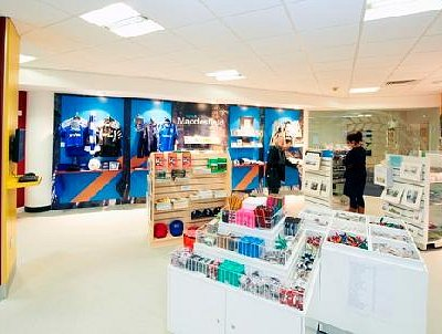The newly refurbished Macclesfield Visitor Information Centre has a fantastic range of gifts, pu