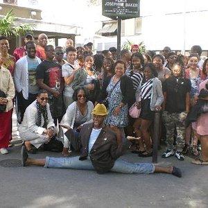 Duke Ellington School for the Arts on the Black Paris Tour!