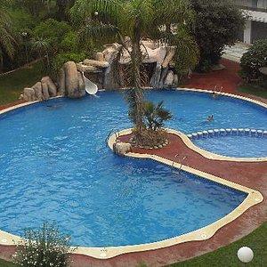piscina vista desde habitacion