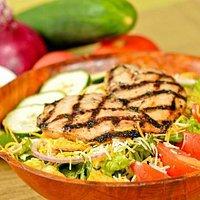 Char-grilled chx salad