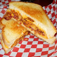 BBQ Bacon Grilled Cheese