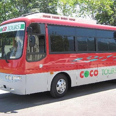 33-passenger bus with a/c and Cocotours driver