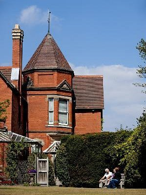 The Turret front at Sunnycroft