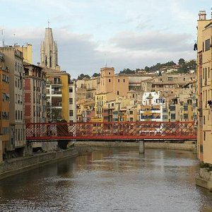 Gerona view of bridge