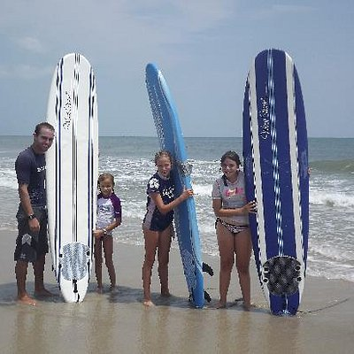 Group Surf Lessons available!