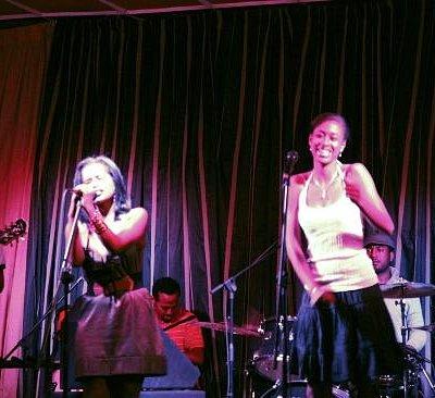 Saturday night at Jazzamba