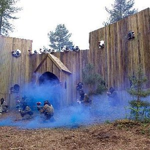 Castle Assault at Bawtry Paintball Fields, VOTED 'Britain's Best Paintball Site' 5 years running