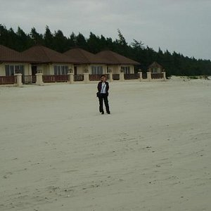 Beach front bungalows
