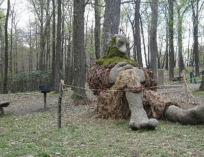 'The Giant' eco-sculpture