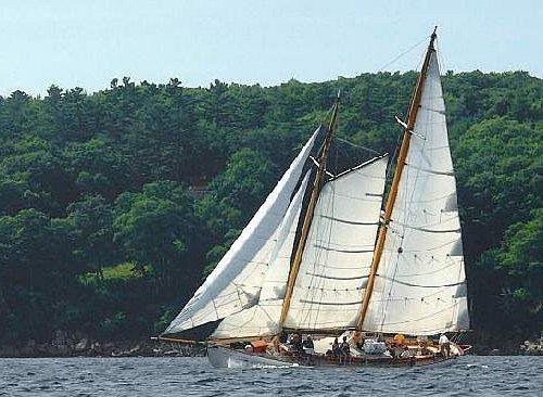 Sail the coast of Maine