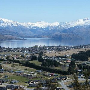 Wanaka - view from top of Iron Mt