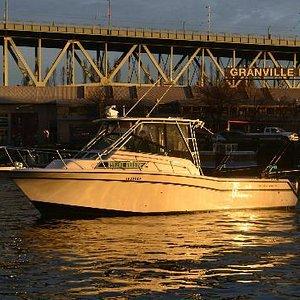 Granville Island Fishing Charter Boat