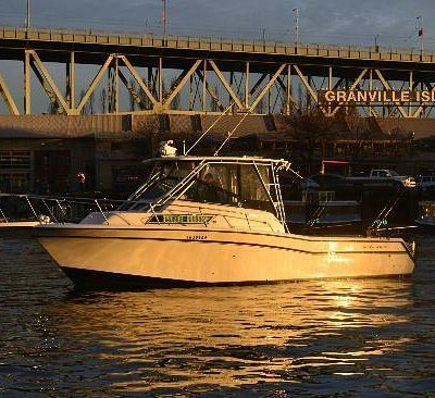 Granville Island Fishing Charter Boat