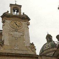 Basilica di Oria- torre campanaria