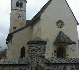 la chiesa di Santa Fosca da fuori
