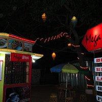 Part view of Mega Bites Cafe