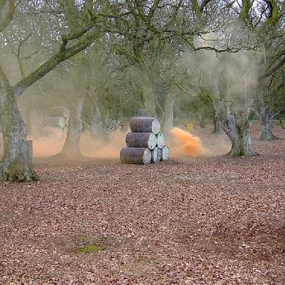 Use your smoke grenades wisely in the speedball arena
