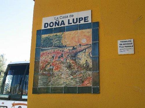 Entrance to La Casa de Dona Lupe