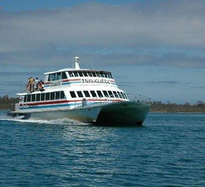 Thunderbird cruising on the lakes
