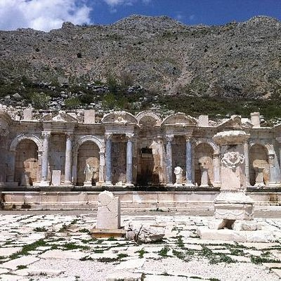Most beautiful restoration in Sagalassos