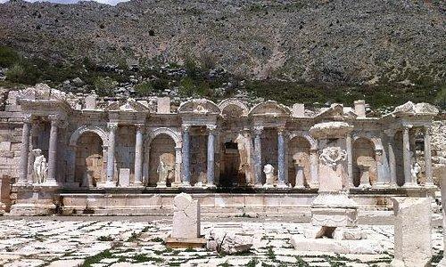 Most beautiful restoration in Sagalassos