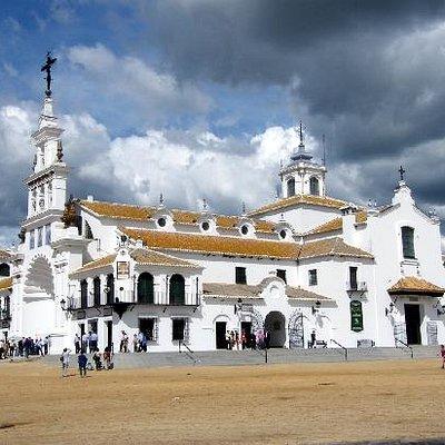 Catredal da virgem de El Rócio