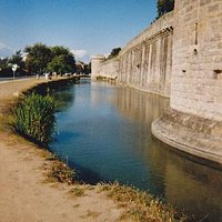 Around the moated walls 2