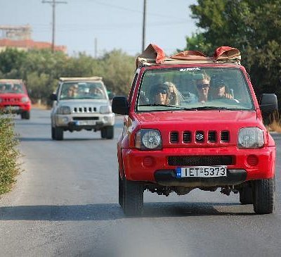 Jeepsafari on Crete