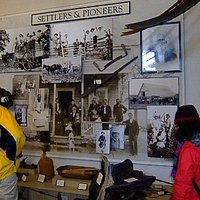 Settlers and Pioneers display