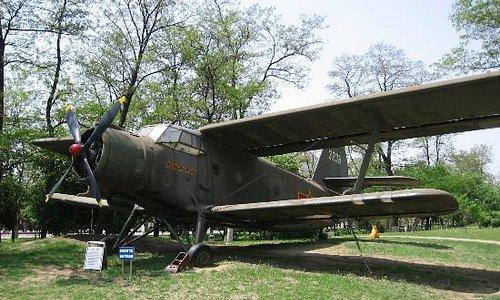 A Y-5 biplane