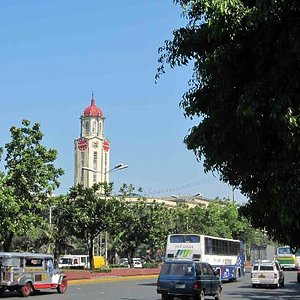 Manila City Hall in the distance