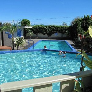 Beautiful hot pools