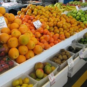 Non-local produce also here
