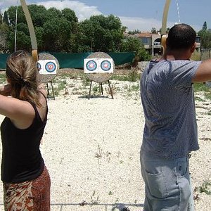 sherwood archery Paphos May 2012