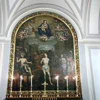 Mural of the three sainted brothers