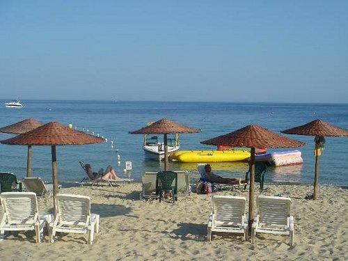 Koukounaries lovely beach