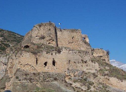 Крепость тамплиеров Баграс