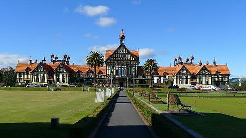 Rotorua Museum at Government Gardens