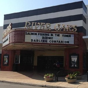 River Oaks Theater - present day