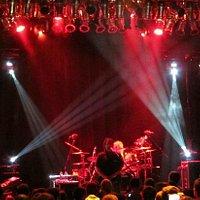 The Machine performs Pik Floyd