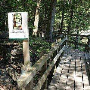 Boardwalk around Crawford Lake