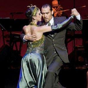 Cyrena Drusine, owner NTT, performing in Tango Pasion