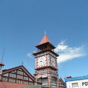 Clock tower at Stabroek Market