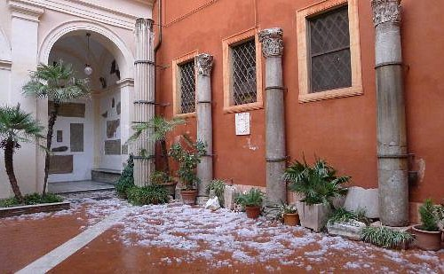San Silvestro - courtyard