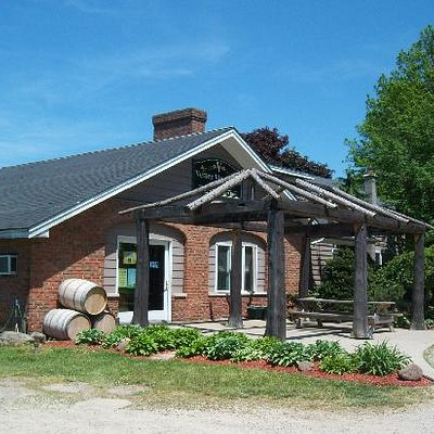 Front of the Winery