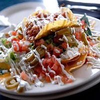 Mouth watering nachos