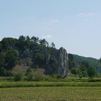 Burgsteinfelsen bei Dollnstein