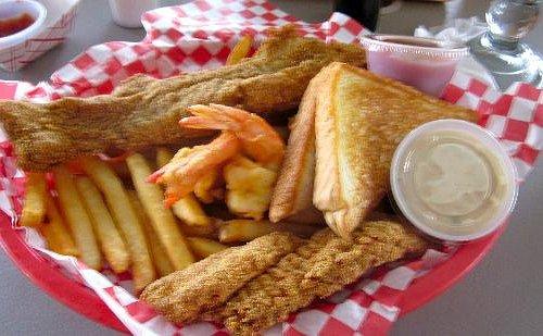 Friend Catfish & Shrimp Combo - No GREASE